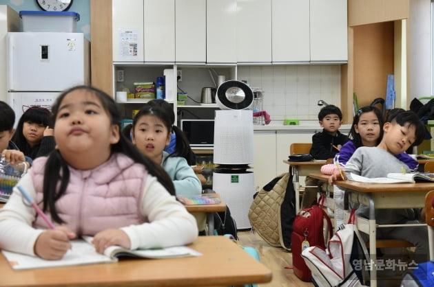 통 큰 LG, 전국 초중고에 공기청정기 1만대 기증
