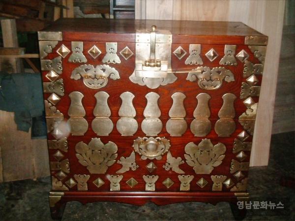 옛 장석문양 ( 호리병, 표주박)