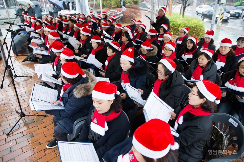 구미시민을 위한 성탄트리 점등식