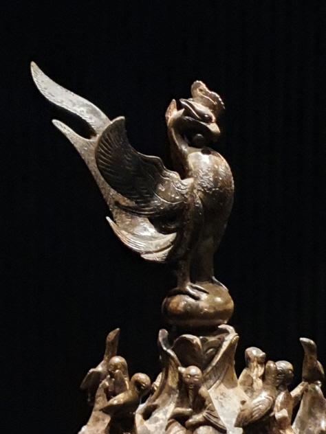 백제 금동용봉향로,( 百濟金銅大香爐) 국보 제287호.