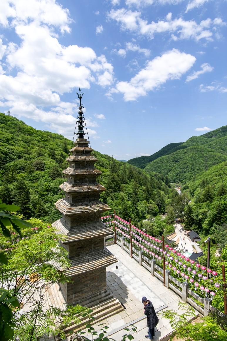 정선 정암사    국보 제332호 수마노 탑